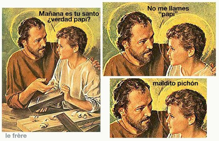"""""""San José"""",""""feliz"""",""""Marzo"""",""""vacaciones"""", """"José y Jesús"""""""