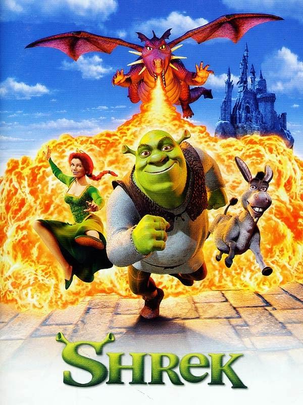 Shrek, des studios Dreamworks (2001)