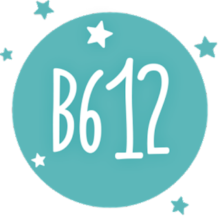 b612 available on Android iOS popular app for taking selfies