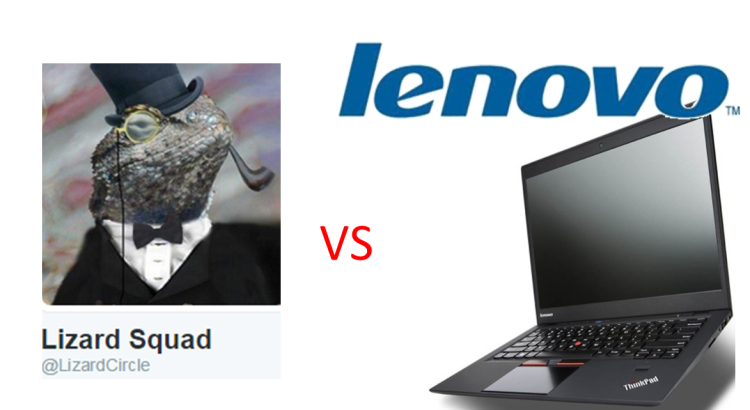 Lizard Squad hacked Lenevo Website