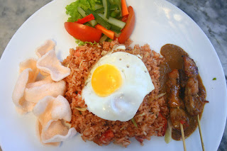 nasi goreng spesial, fried rice, healthy food, egg