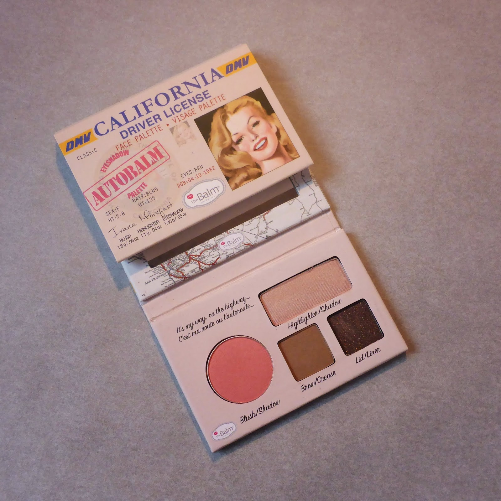 paleta california the balm