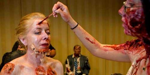 maquillaje profesional halloween latex liquido