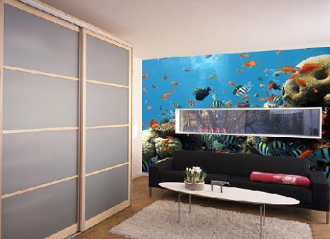 Decoraciones y modernidades paredes con murales de lujo for Comprar murales para pared