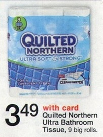Time to Stock up on Toilet Paper with this Walgreens and Checkout 51 Offer. Deal: Buy: White Cloud Toilet Paper 6 Mega or 12 giant on sale for $ Use: $/1 printable Pay: $ Submit: $ when you buy any ONE (1) White Cloud® Bath Tissue or Paper Towels. Any downloadsolutionles0f.cfs 3/1/