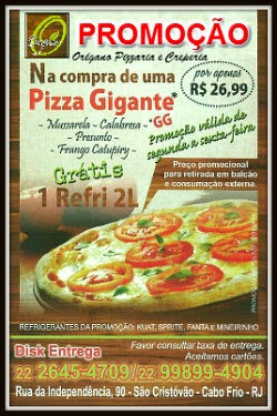 Pizzaria Orégano