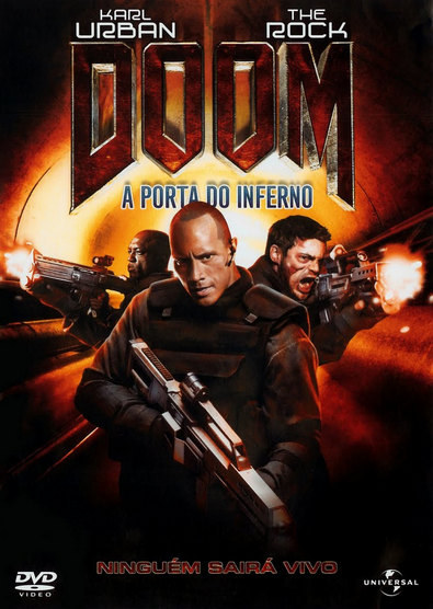 Filme Doom A Porta do Inferno Dublado AVI DVDRip