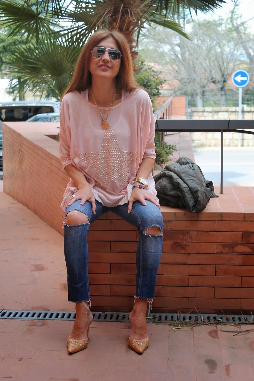 Look, Animal Print, Bomber, Mules, Bag, Style, Fashion Blogger, Carmen Hummer