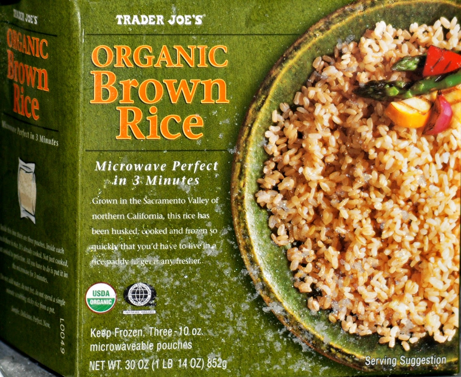 Nutritious Bake & Serve Rice Snack Made Fromanic Whole Grain Brown Rice! I  Wanted To Review This Rice Because It Has Been A Huge Time Saver In My