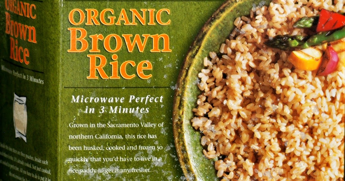 Cooking with Costa: Review: Trader Joes Frozen Organic Brown Rice