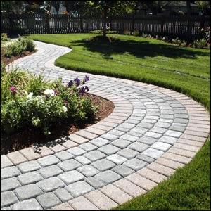 mejor para caminos muy transitados coloca los adoquines o ladrillos sobre una capa de mortero de unos cm sobre una base de with adoquines para jardin