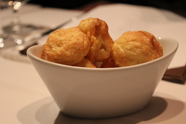 Gougeres at 80 Thoreau, Concord, Mass.