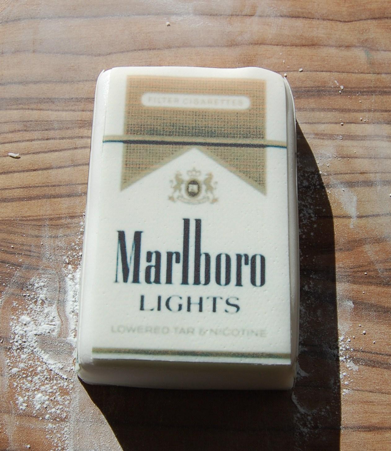 Торт из сигарет пошагово