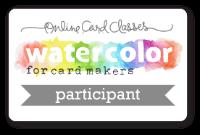 Online Card Class - Watercolour