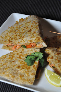 Recipe: Easy, healthy salmon quesadillas