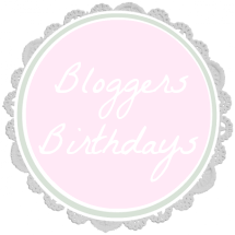 Bloggers Birthdays