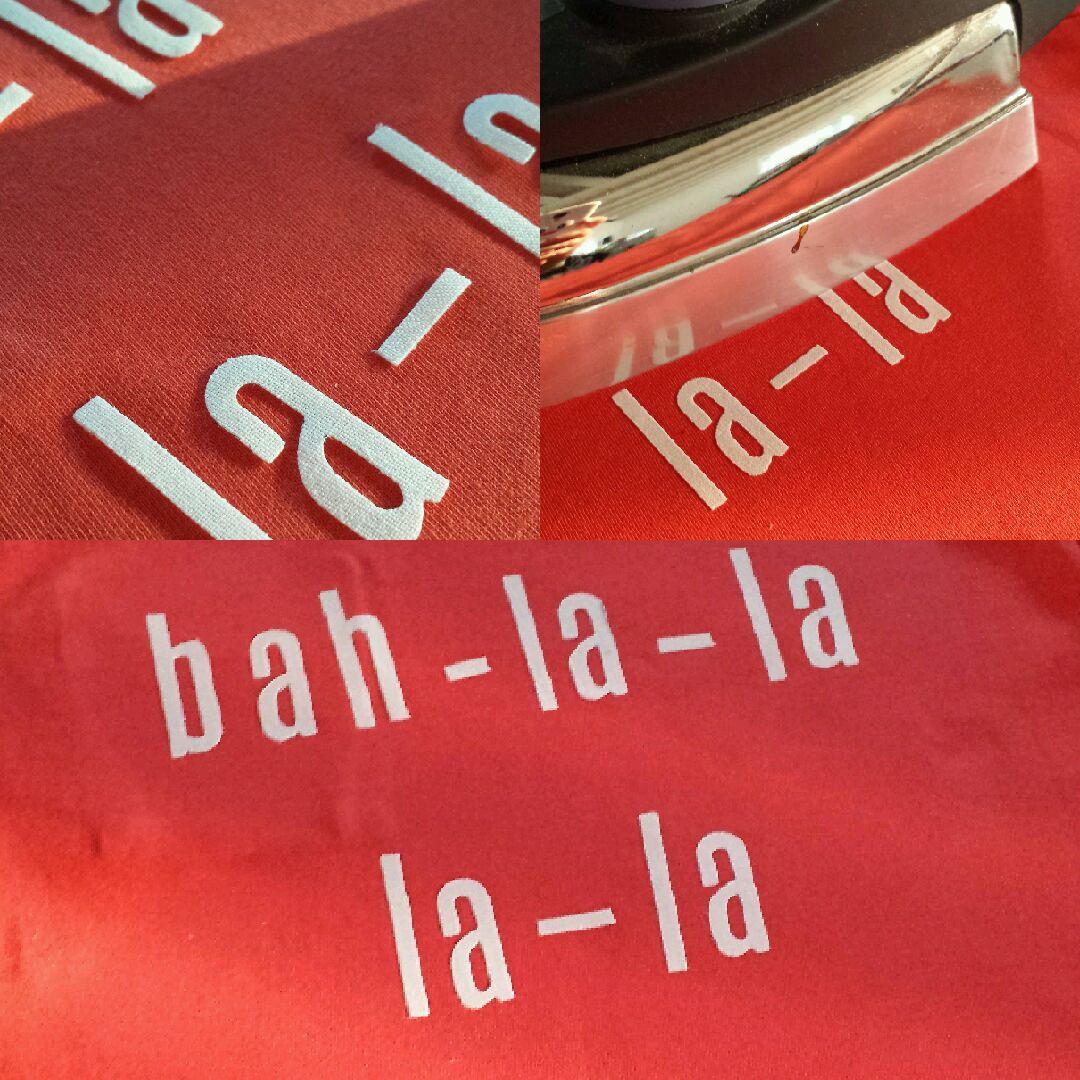 Lettere adesive per magliette