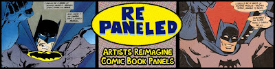 repaneled: Copied Comics Panels