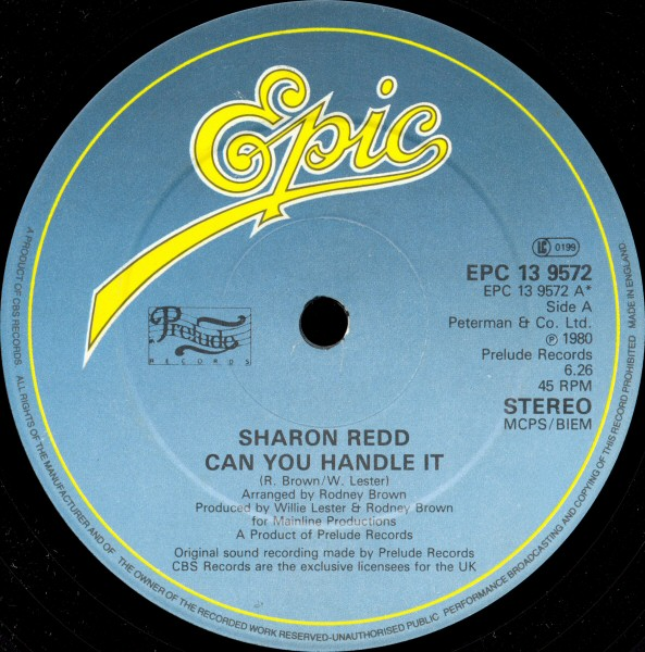 Sharon Redd - Can You Handle It / You Stayed On My Mind