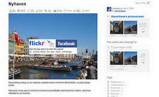 Cara Sharing foto di Flickr ke facebook