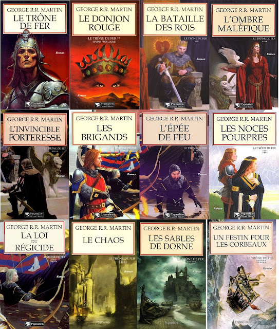 le trone de fer a song of ice and fire cover art work french france pygmalion