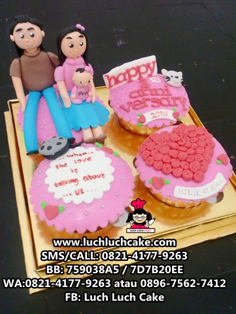 Cupcake Romantis Daerah Surabaya - Sidoarjo