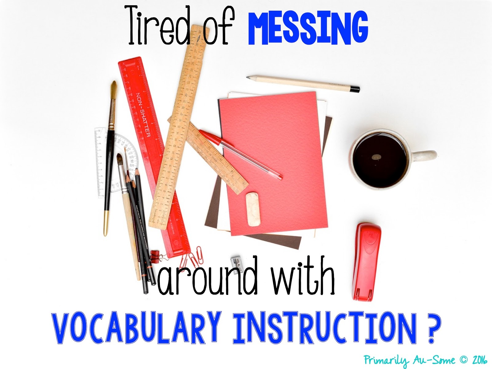 Vocabulary Instruction For Students With Disabilites