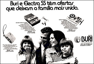 Casas Buri,  1972; os anos 70; propaganda na década de 70; Brazil in the 70s, história anos 70; Oswaldo Hernandez;