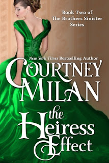 Book cover of The Heiress Effect by Courtney Milan (Brothers Sinister #2)