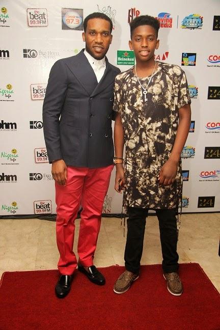 Okocha and son