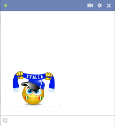Italy football fan