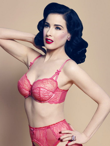 Von Follies by Dita Von Teese Fall 2013 at Faire Frou Frou Leading Lady