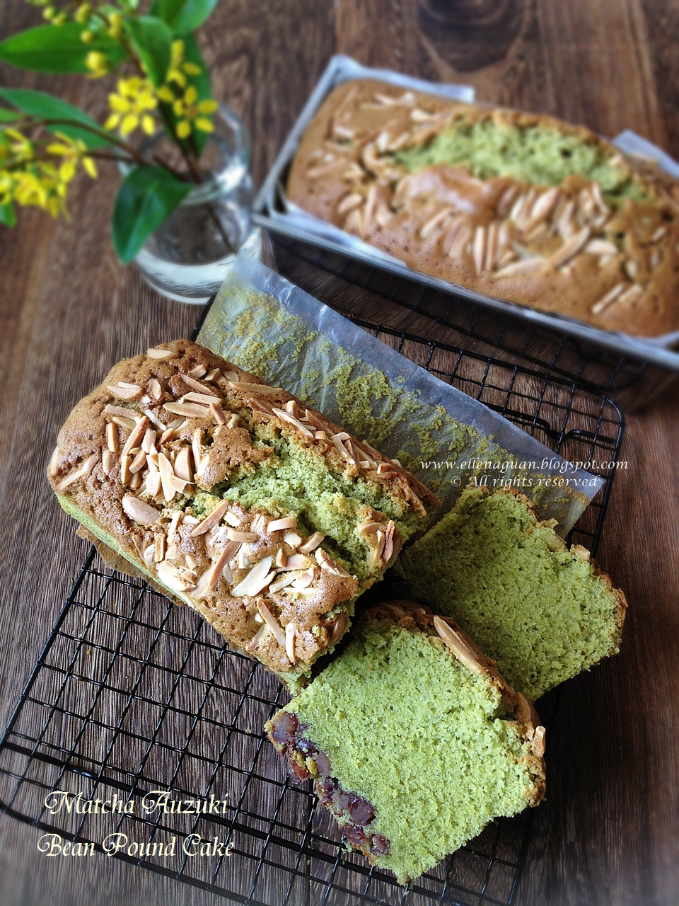 Matcha Pound Cake Recipe Singapore