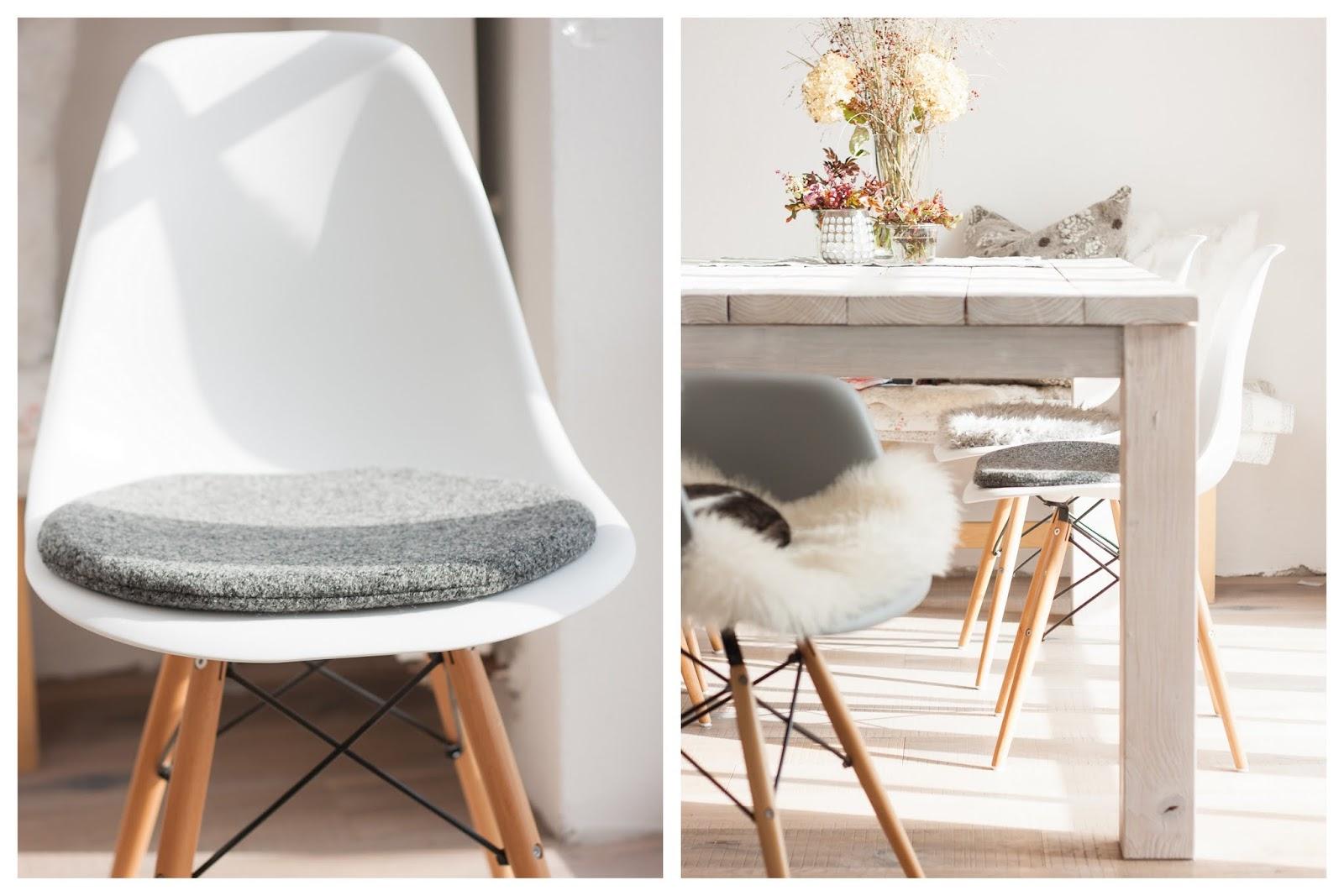 Entzuckend Sitzkissen Eames Chair, Sitzauflage