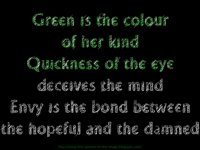 green quote