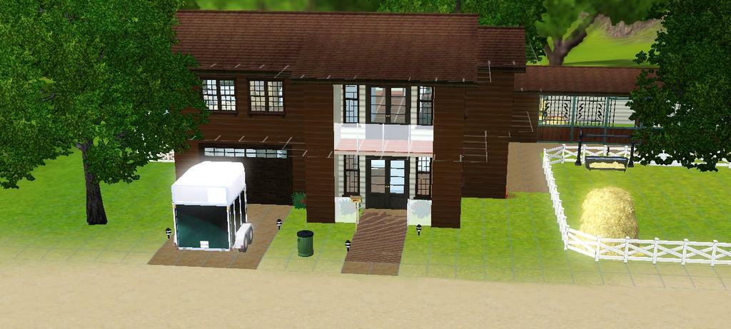 Sims 3: Mijn eerste sims 3 huis!