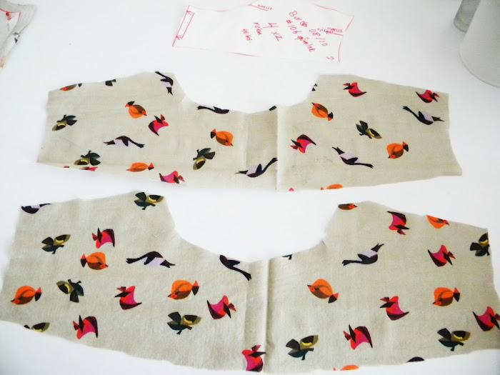 bluz dikiş adımları