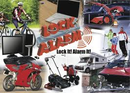 alarm pad lock siren