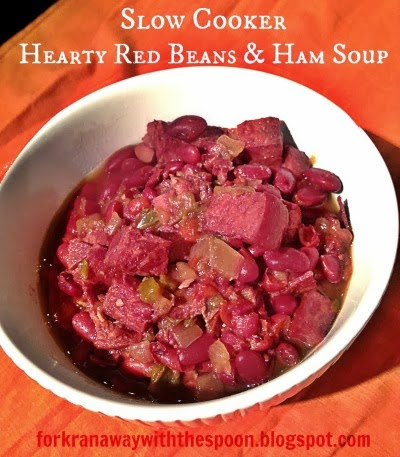 Slow Cooker Red Beans Ham Soup