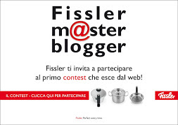 SARO&#39; A TORINO IL GIORNO 13/04/2013 PER FISSLER MASTER BLOGGER!