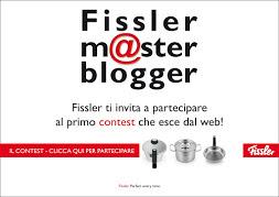 SARO' A TORINO IL GIORNO 13/04/2013 PER FISSLER MASTER BLOGGER!