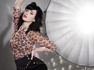 Katy Perry Body tattoo Wallpapers Beautiful Babe 2011 Pop singer