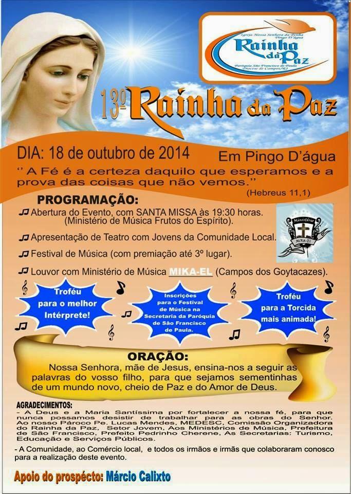 13º RAINHA DA PAZ