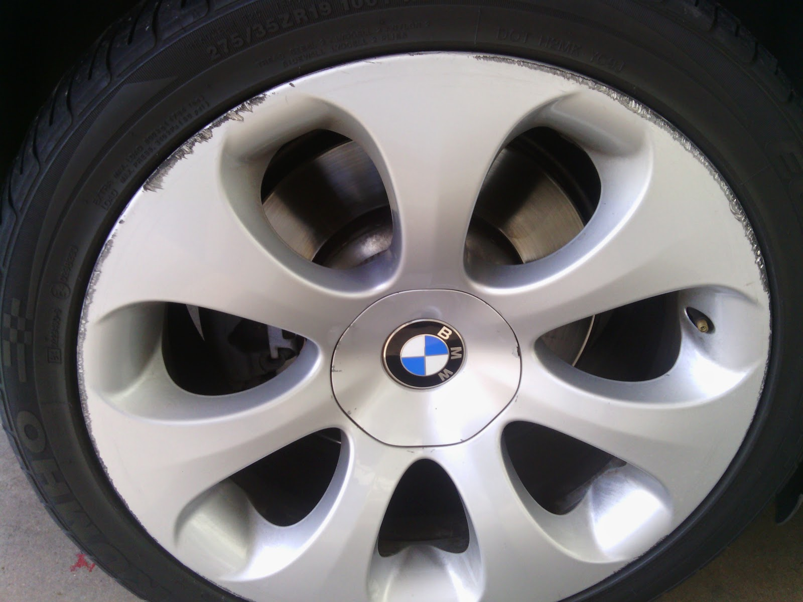 a bad tire can cause rim or wheel repair service
