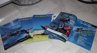 Tidningar: uppstart av en ny tidning inom vindsurfing.