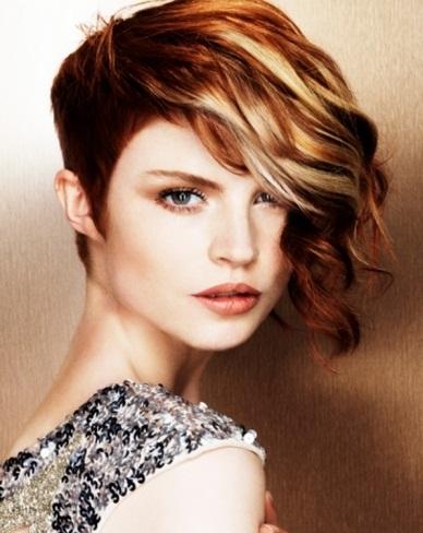 Short Asymmetrical Hair Style 2014