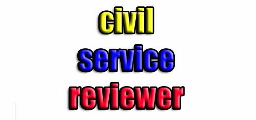 philippines civil service exam reviewer download
