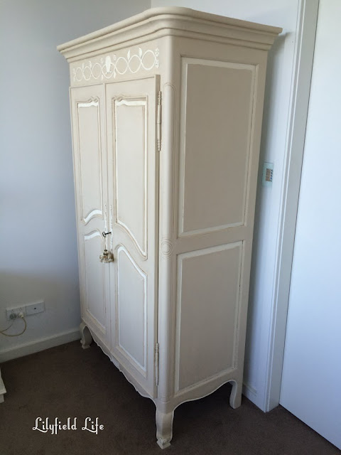 hand painted french armoire Lilyfield Life