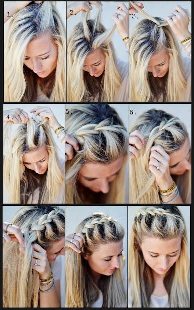hairstyles french braid