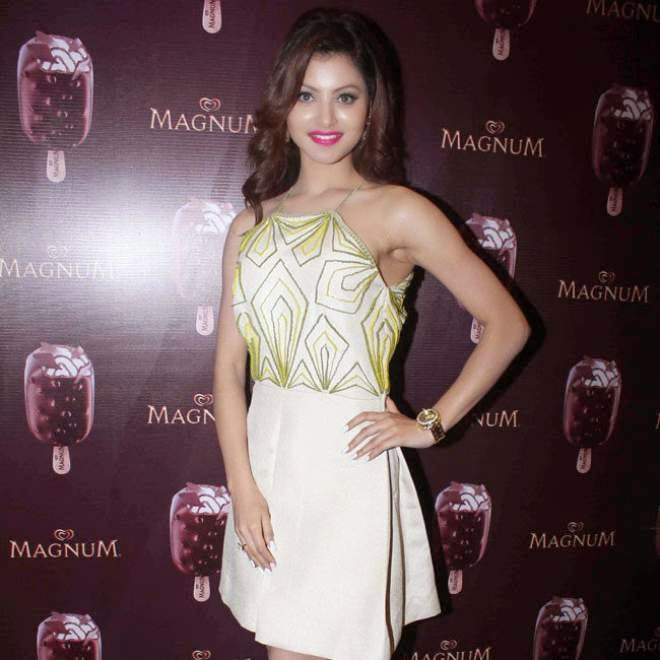 Urvashi Rautela Stills At MAGNUM Ice Cream Flavor Launch